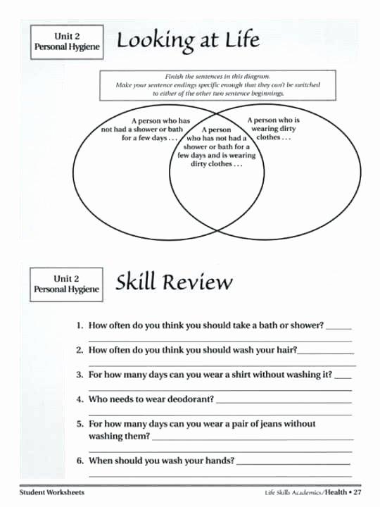 Life Skills Math Worksheets Pdf Free Printable Independent Life Skills Worksheets Living for