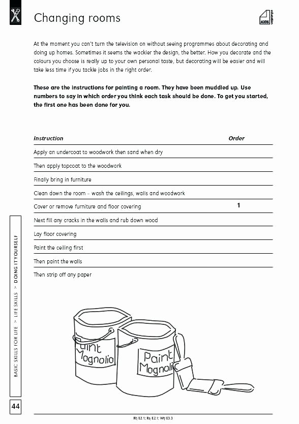 Life Skills Worksheets Pdf Best Of Free Life Skills Worksheets Printable for Special Needs