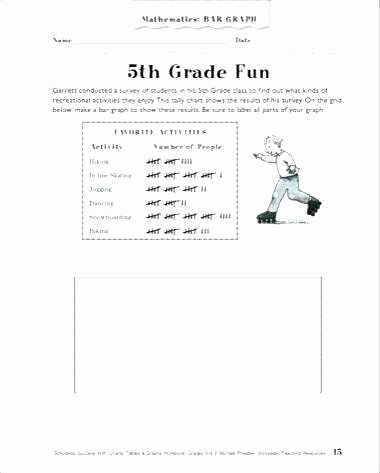 Line Graphs Worksheets 5th Grade 5 Grade Worksheets for Reading
