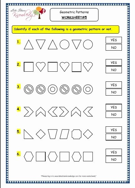 Line Pattern Worksheets Awesome Pin On Homeschool Math