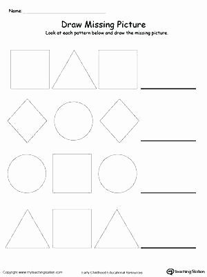 Line Pattern Worksheets Best Of Printable Worksheets for Preschoolers the Alphabets Free