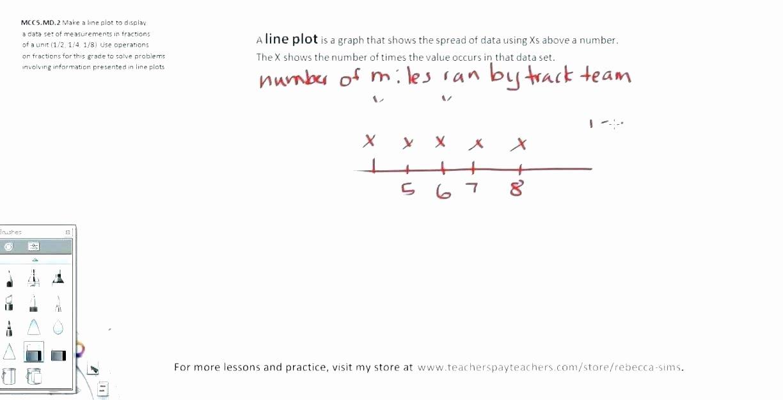 Line Plot Worksheet 5th Grade Grade Plot Worksheets Goal Setting Worksheet Elementary