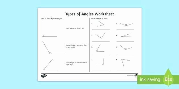 Lines Rays and Angles Worksheets Types Angles Acute Obtuse Right Identify Lines and