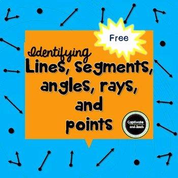 Lines Rays Line Segments Worksheets Line Line Segment Ray Angle Worksheets & Teaching