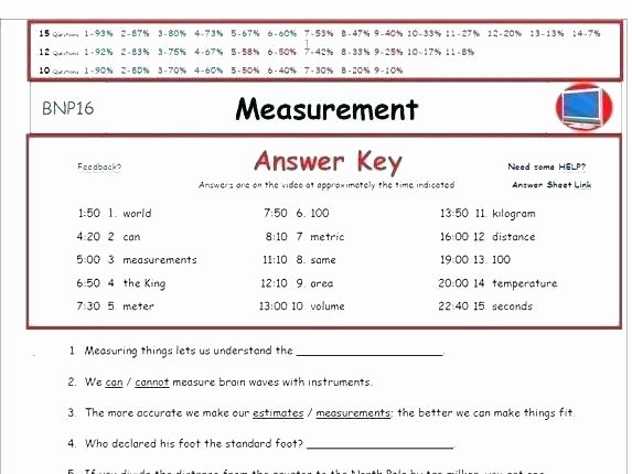 Liquid Volume Worksheets Measurement Worksheets Middle School Science Grade