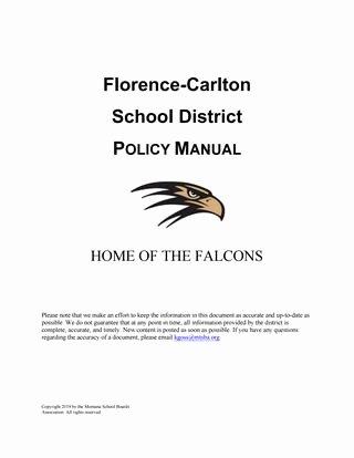 Listening Center Response Sheet Kindergarten Florence Carlton Public Schools Policy Manual by Montana