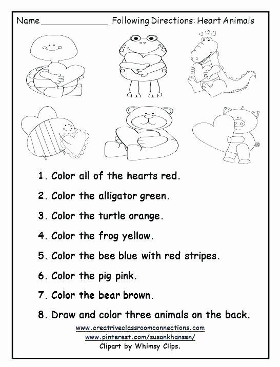 Listening Center Response Sheet Kindergarten Free Printable Vocabulary Worksheets for Kindergarten Medium