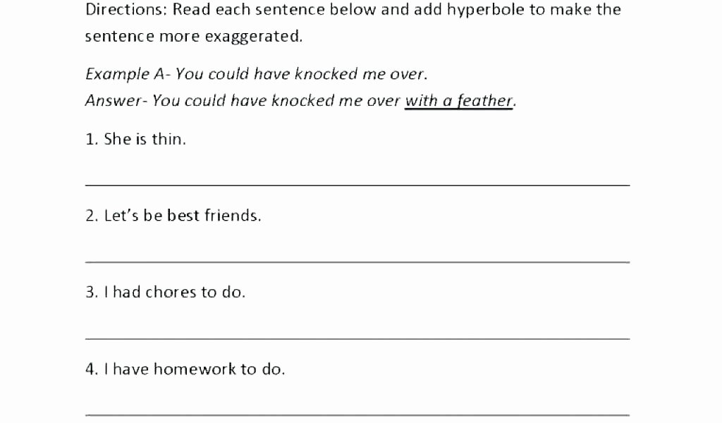 Literal and Nonliteral Worksheets New Figurative and Literal Language Worksheet Lesson Planet