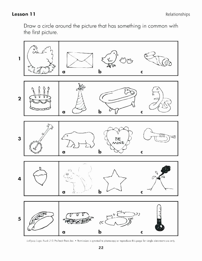 Logical Reasoning Worksheets Critical Thinking Worksheets for 1st Grade – butterbeebetty