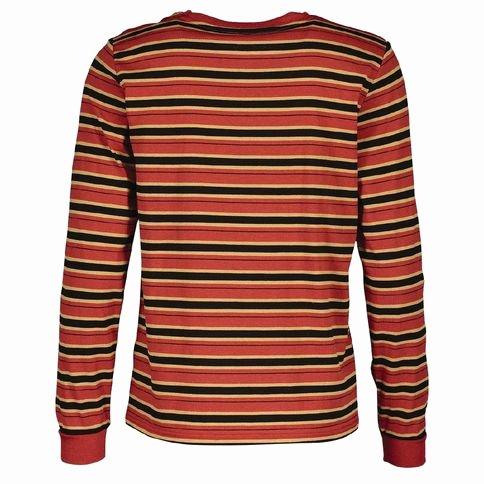 Long A Patterns Lovely Garage Women S Long Sleeve Stripe Tee
