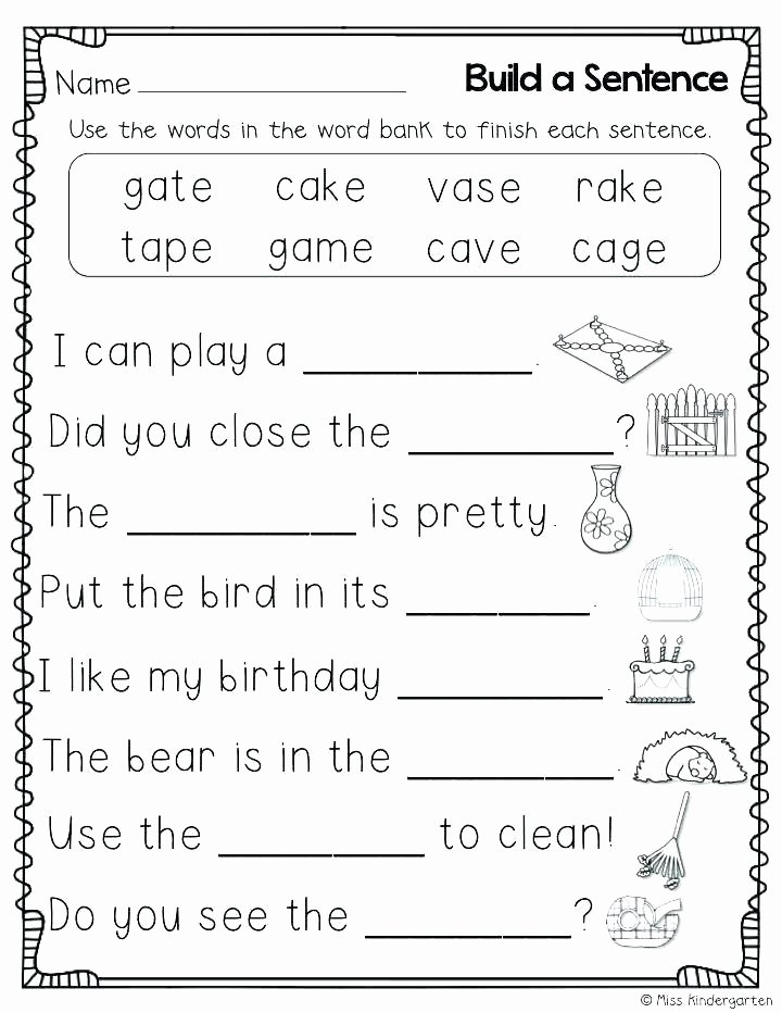 Long A Silent E Words Beautiful Silent K Words Worksheets