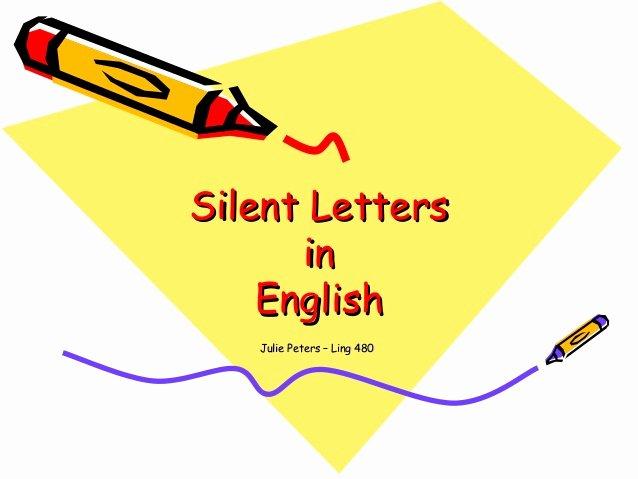 Long A Silent E Words Elegant Silent Letters