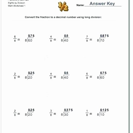 Long Division with Decimals Worksheets Long Division Problems Pdf