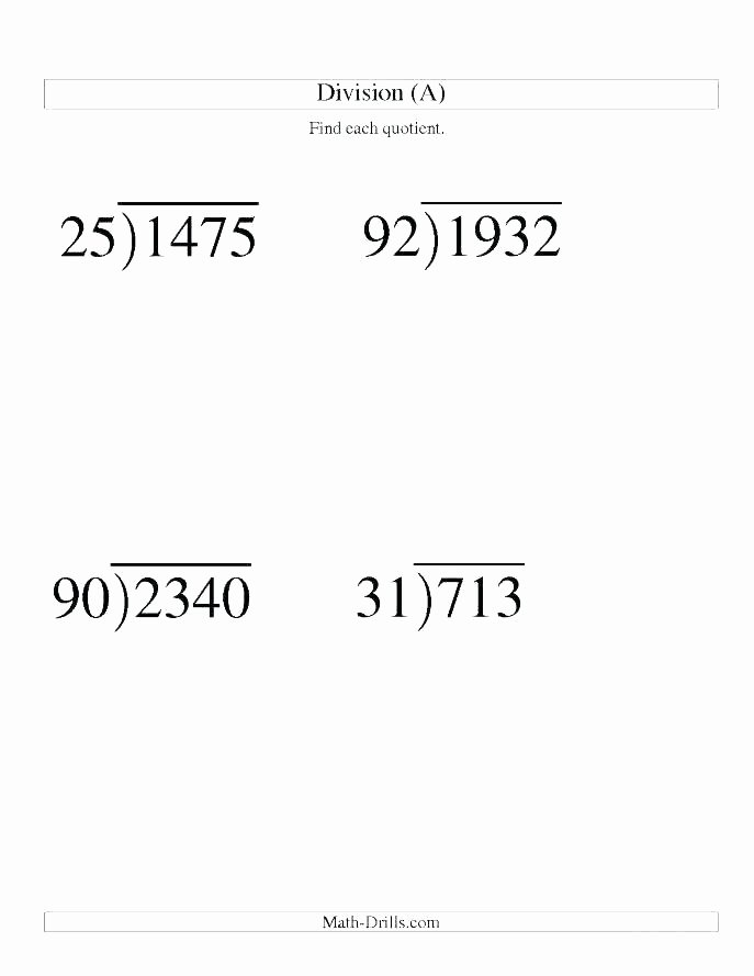Long Division with Decimals Worksheets Math Worksheets Long Division with Decimals – ashafrance