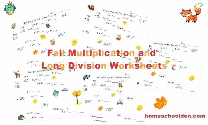 Long Division without Remainders Worksheet Long Division Worksheet Generator – atrevetehoy