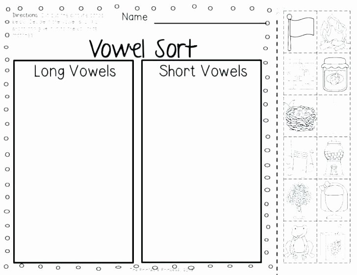Long E Short E Worksheets Free Worksheets for Words the Measured Mom sound Long and
