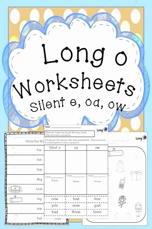 Long O Silent E Worksheets Spelling Patterns Worksheets