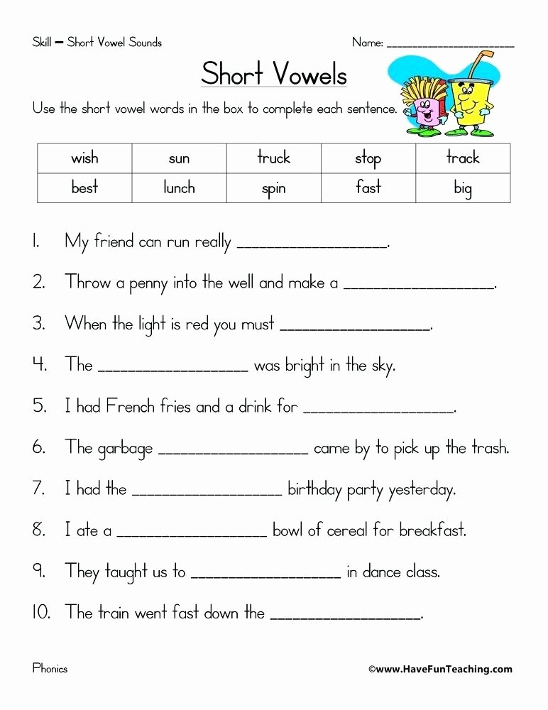 Long O Worksheets 2nd Grade Short Vowel Worksheets 2nd Grade