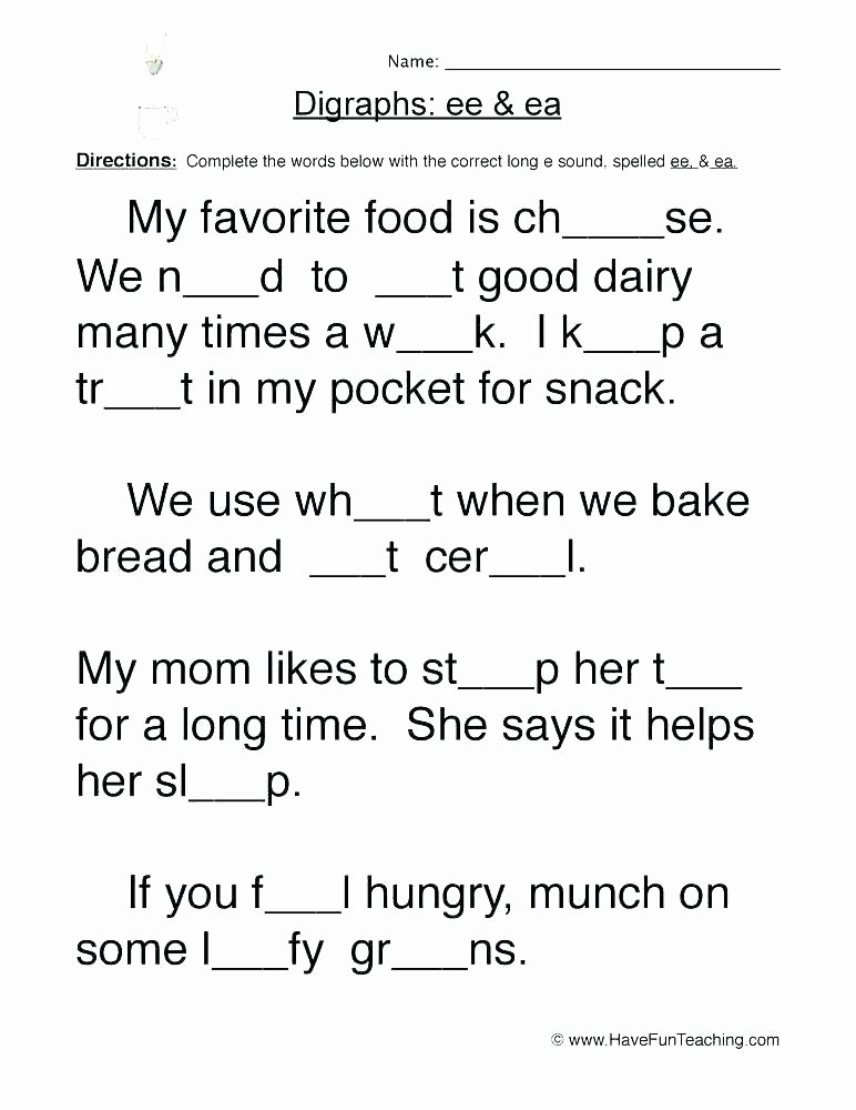 Long U sound Worksheet Vowel sounds Practice Worksheets