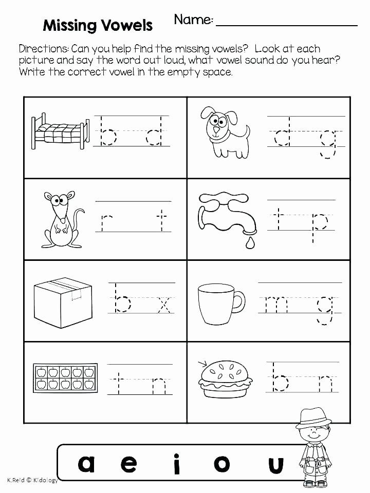 Long Vowel Review Worksheets Free Long and Short Vowel Worksheets