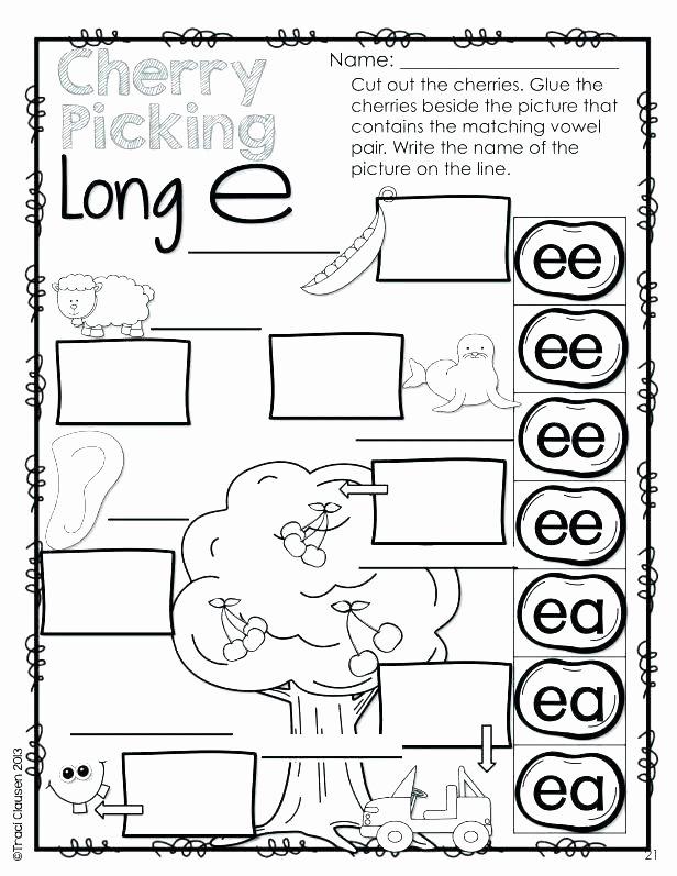 Long Vowel Review Worksheets Long A Silent E Worksheets