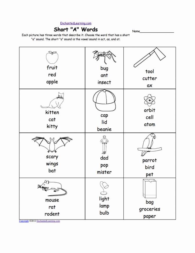 Long Vowel Review Worksheets Long Vowel Worksheets Kindergarten Short Worksheet sound