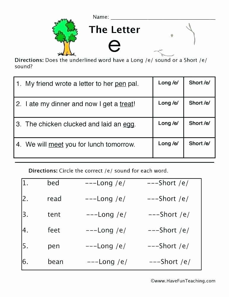 Long Vowel Silent E Words Awesome Long O Silent E Worksheets Phonics U Activities and Free