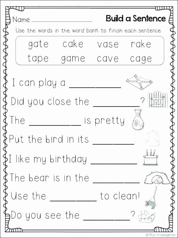 Long Vowel Silent E Worksheet Long Vowel Silent E Worksheets