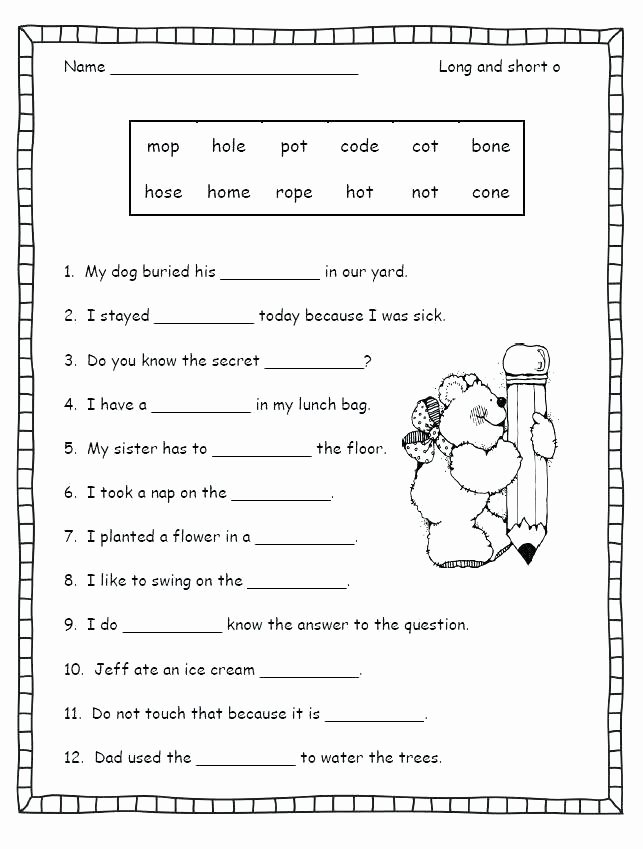 Long Vowel Silent E Worksheets Awesome Long Vowel Silent E Worksheets