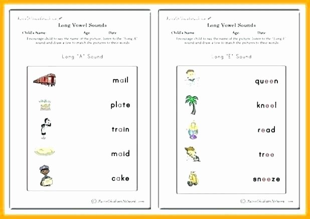 Long Vowel sounds Worksheets Long O Worksheets 2nd Grade