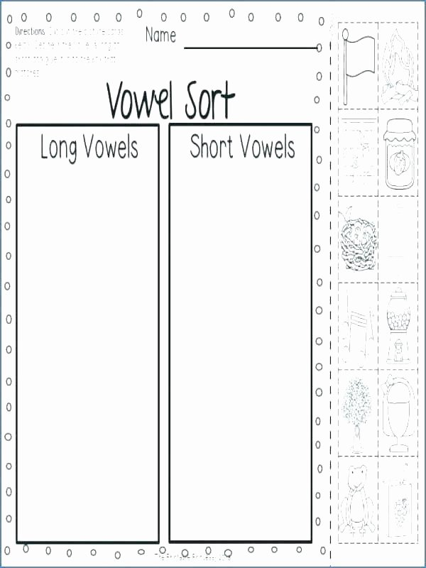 Long Vowel sounds Worksheets Short O Words Worksheets Long sound Worksheet U with Vowel