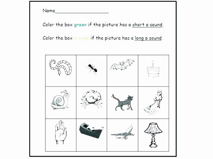 Long Vowel Worksheets Pdf Vowels Worksheets for Grade 1 Long Short Vowels Worksheets