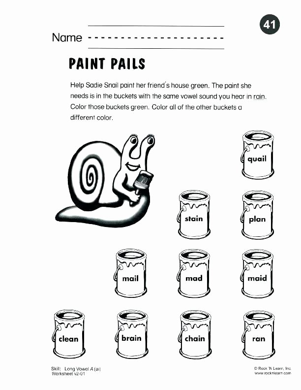Long Vowels Worksheets First Grade Phonics Short Vowels Worksheets