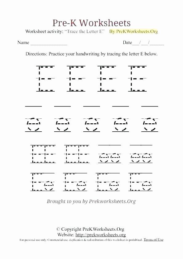 Lower Case Alphabet Worksheet Lowercase Letter E Worksheets