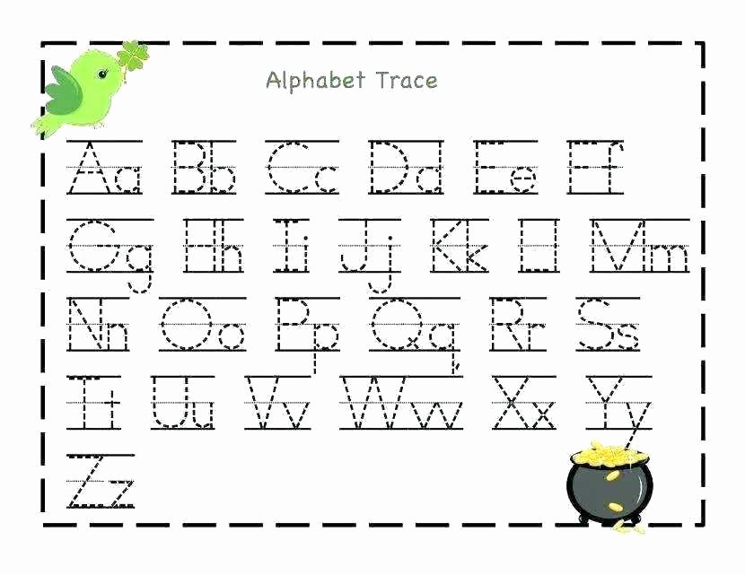 Lowercase Letter Tracing Worksheet Alphabet Letter Tracing Worksheets