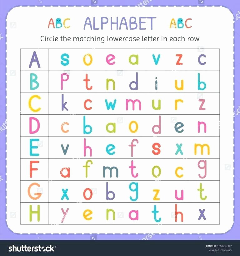 Lowercase Letter Tracing Worksheets Free Printable Alphabet Letter Tracing Worksheets