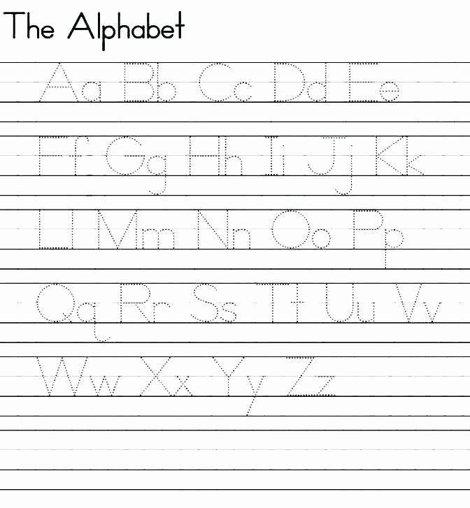 Lowercase Letter Tracing Worksheets Lowercase Letter Worksheets