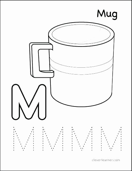 M Worksheets Preschool Letter M Worksheet for Preschool Alphabet Worksheets
