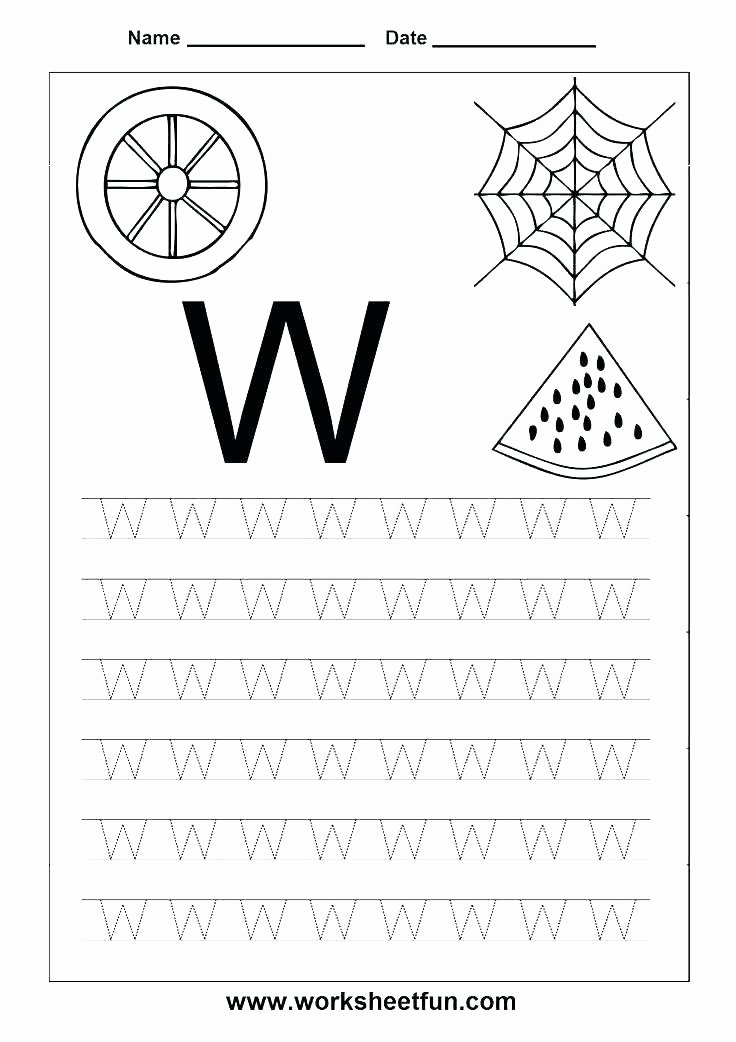 M Worksheets Preschool Letter X Worksheets for Preschool