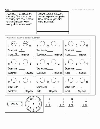 Mad Minute Addition Printable 2nd Grade Math Worksheets