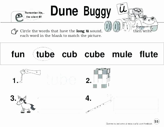 Magic E Worksheets Free Long Vowel Silent E Worksheets