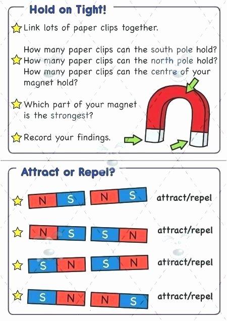 Magnetism Worksheet for High School Beautiful 5th Grade Magnetism Worksheets