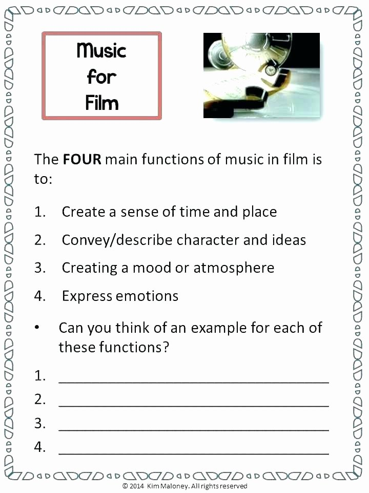 Main Idea 2nd Grade Worksheet orchestra Note Reading Worksheets Main Idea Grade Easy for