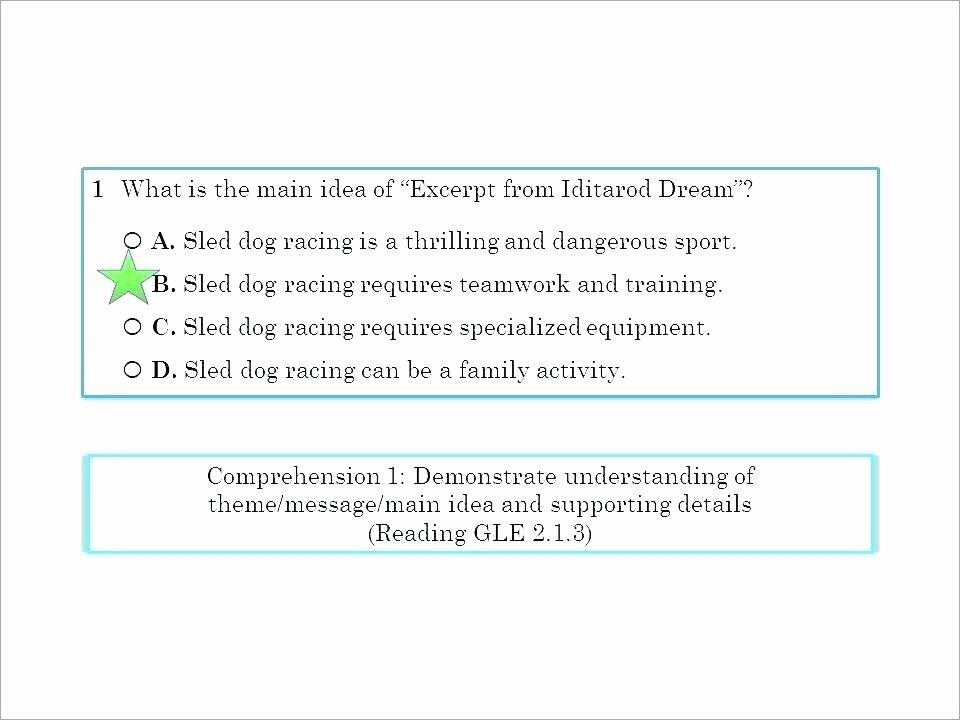 Main Idea and Summary Worksheets Sample Grade Paragraph Finding the Main Idea Worksheets 3rd