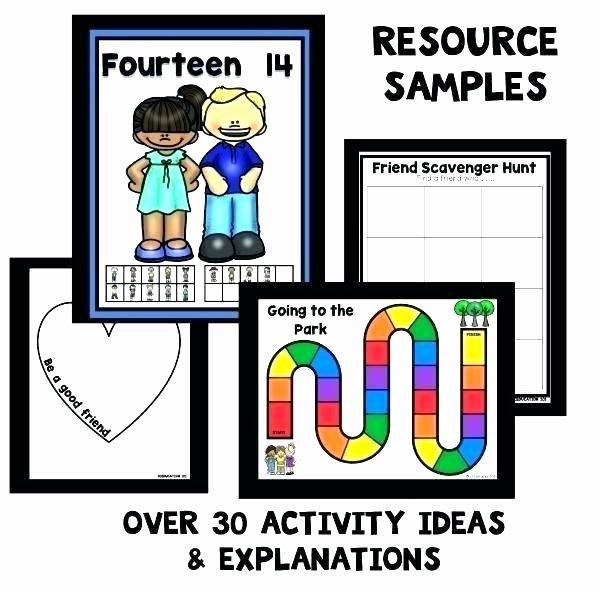 Making Friends Worksheets Kindergarten Awesome Friendship Worksheets for Kids
