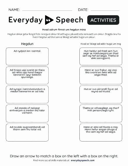 Making Friends Worksheets Kindergarten Elegant Appropriate social Behavior Worksheets