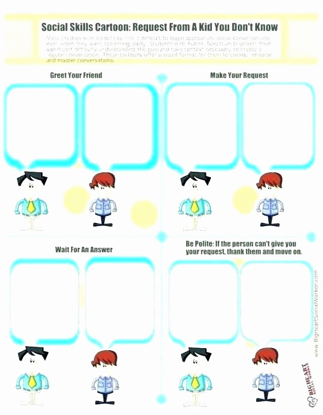 Making Friends Worksheets Kindergarten Inspirational social Skills Worksheets Listening Worksheet Free Printable