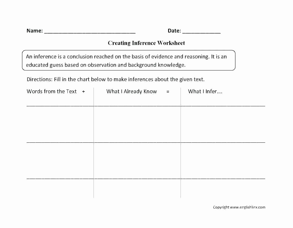 Making Inference Worksheets 4th Grade Drawing Conclusions Worksheets 4th Grade Pdf