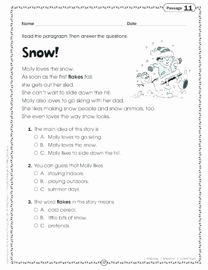 Making Inference Worksheets 4th Grade Inference Worksheets 10th Grade