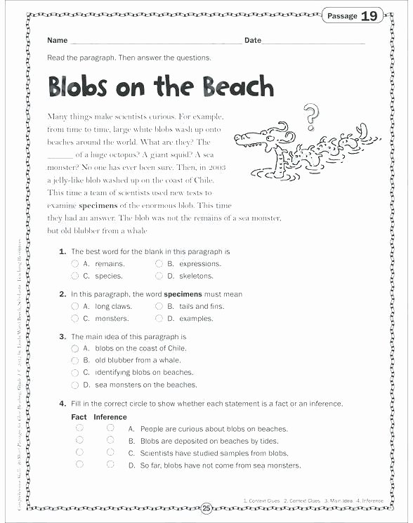 grade worksheets making inferences worksheet 10th inference pdf